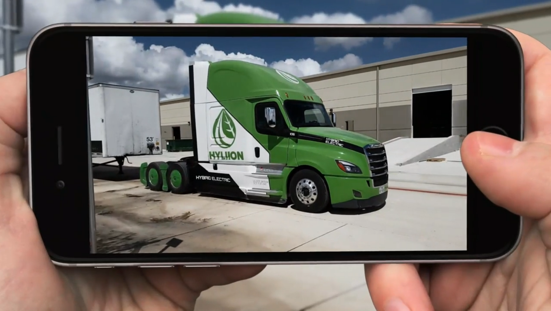 On the Spot: Hyliion Founder Details Hybrid Truck System [Video]
