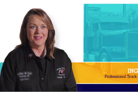 Longtime Truck Driver Shares Her Story in FMCSA 'Our Roads, Our Safety' Campaign[video]