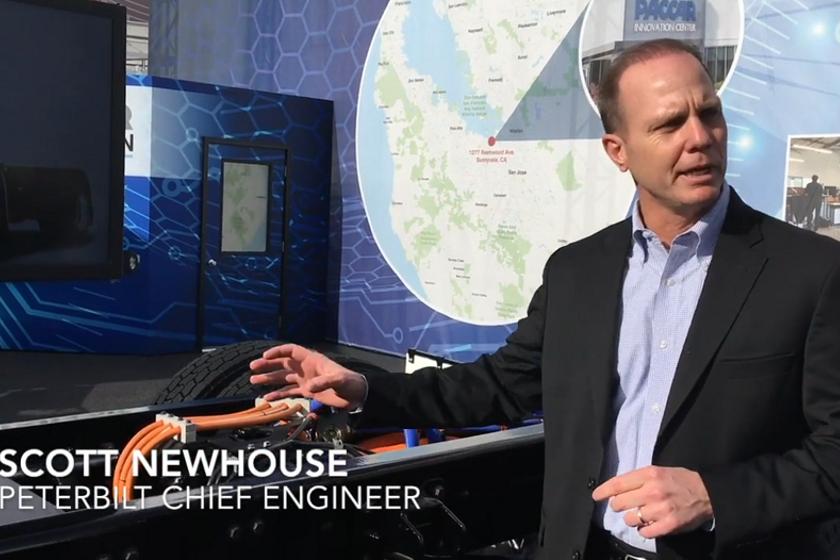 Peterbilt Explains the Electric Model 220EV's Drive System [Video]