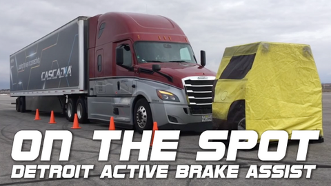 On the Spot... Detroit Active Brake Assist 5.0 [Video]