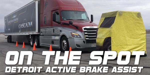 On the Spot... Detroit Active Brake Assist 5.0 [Video]