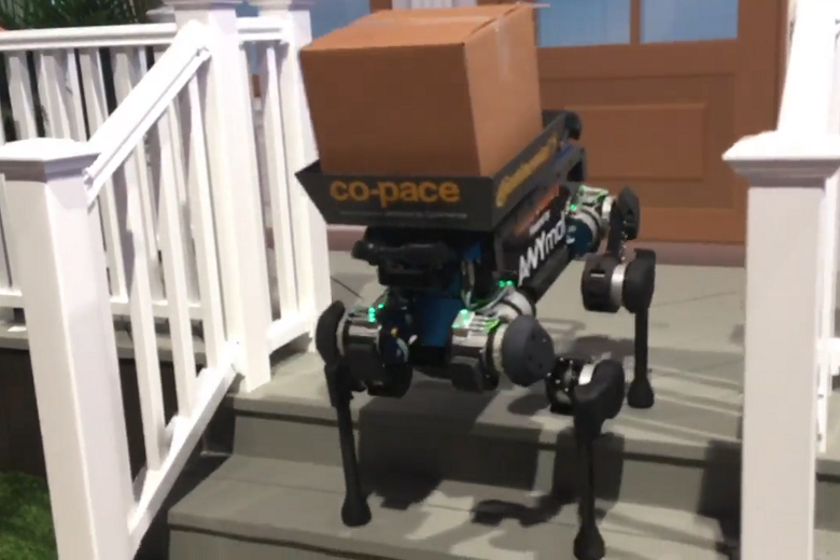 Continental Unleashes RoboDogs at CES [Video]