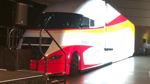 Shell's Starship concept truck
