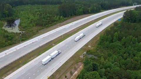 Volvo Trucks' Public Platooning Demonstration [Video]