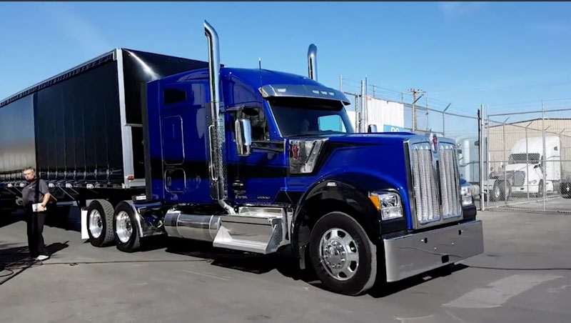 On the Spot with Kenworth's New W990 [Video]