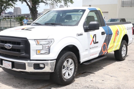 XL Shows off Plug-in Hybrid F-Series Trucks [Video]