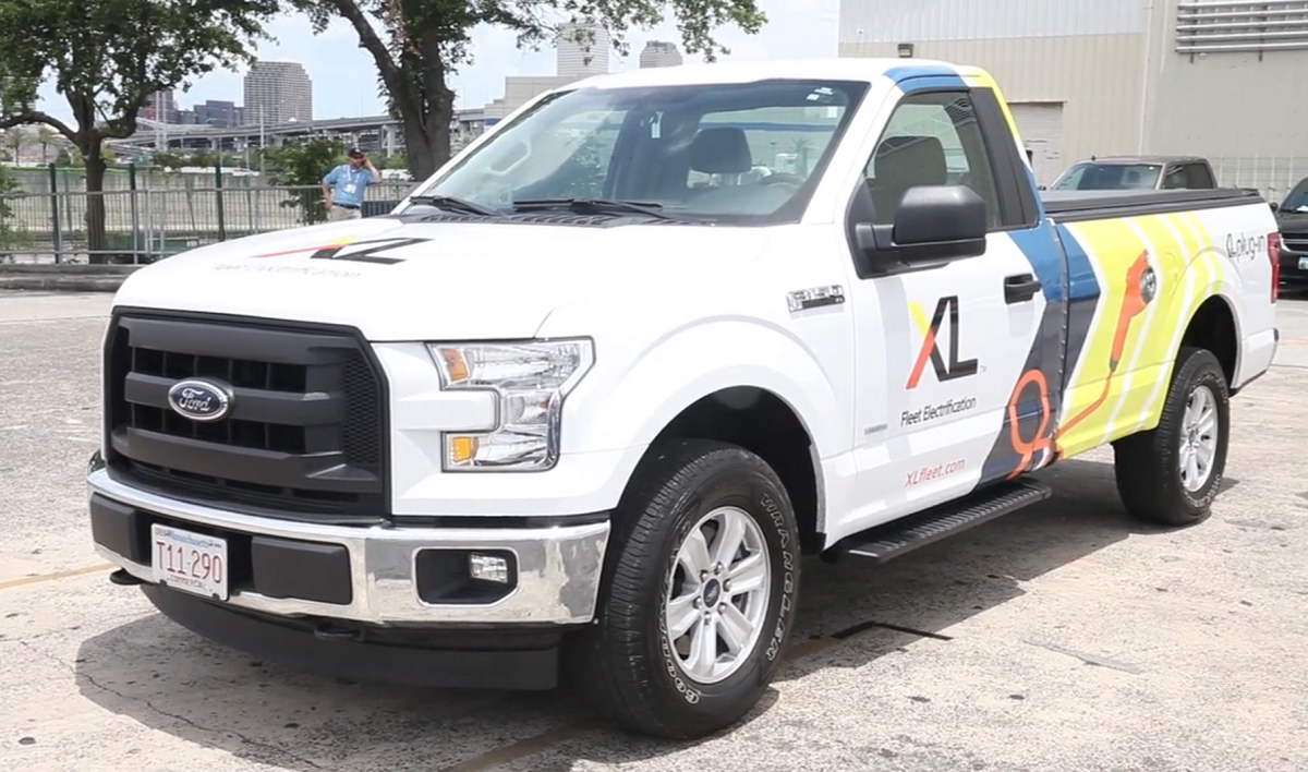 XL Shows off Plug-in Hybrid F-Series Trucks [Video]