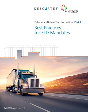 Leveraging Your Telematics Investment – Understanding ELD Compliance