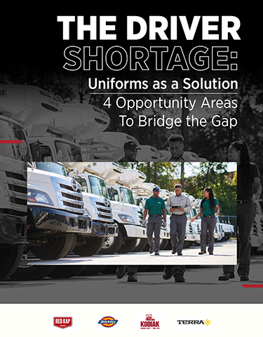 The Driver Shortage: Uniforms as a Solution – 4 Opportunity Areas to Bridge the Gap