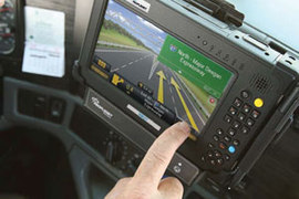 Save Fuel, Ease Stress with in-Cab Nav