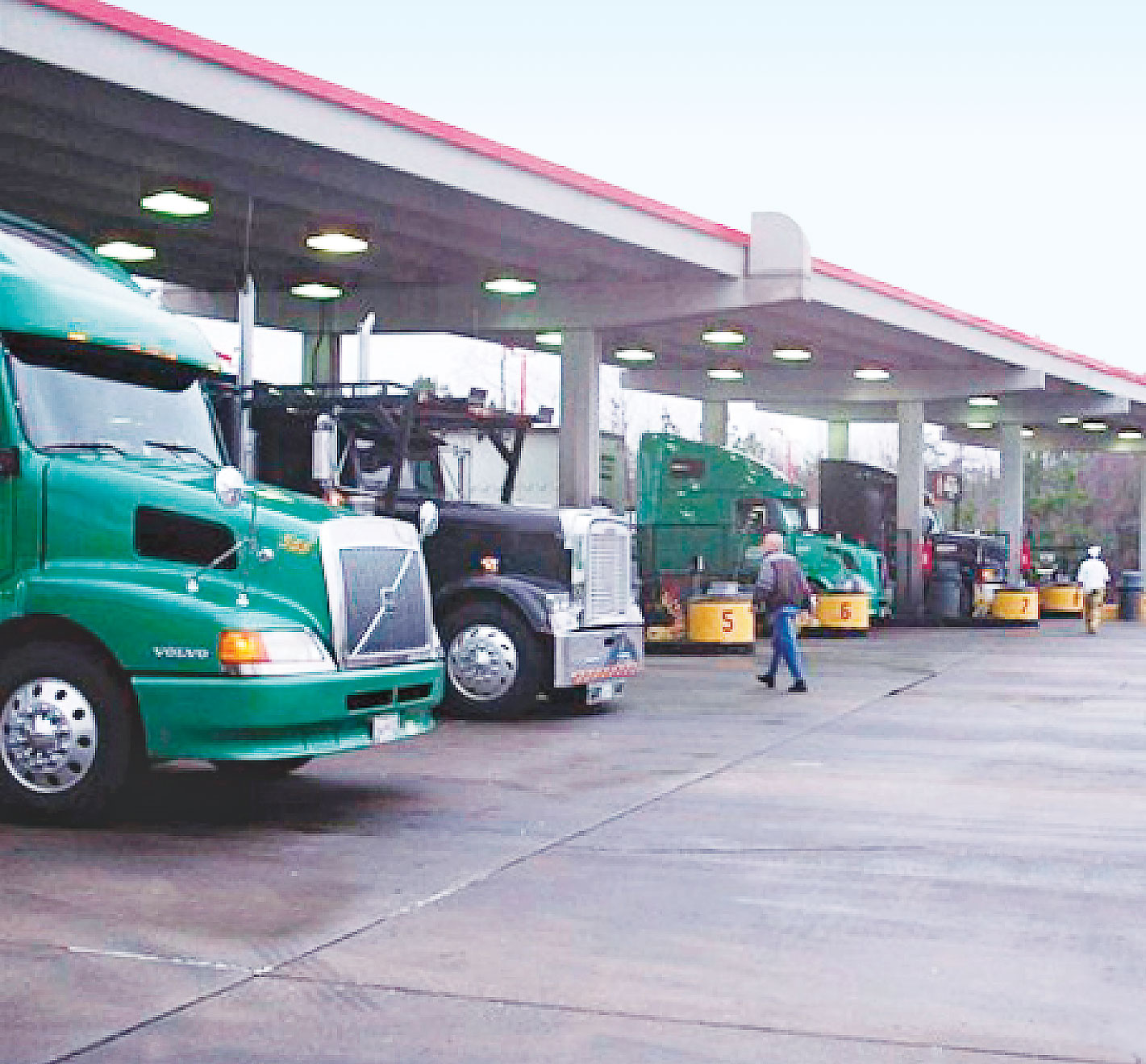 121 Ways To Save Fuel Theft Fleet Management Trucking Info Freight Truck Pump