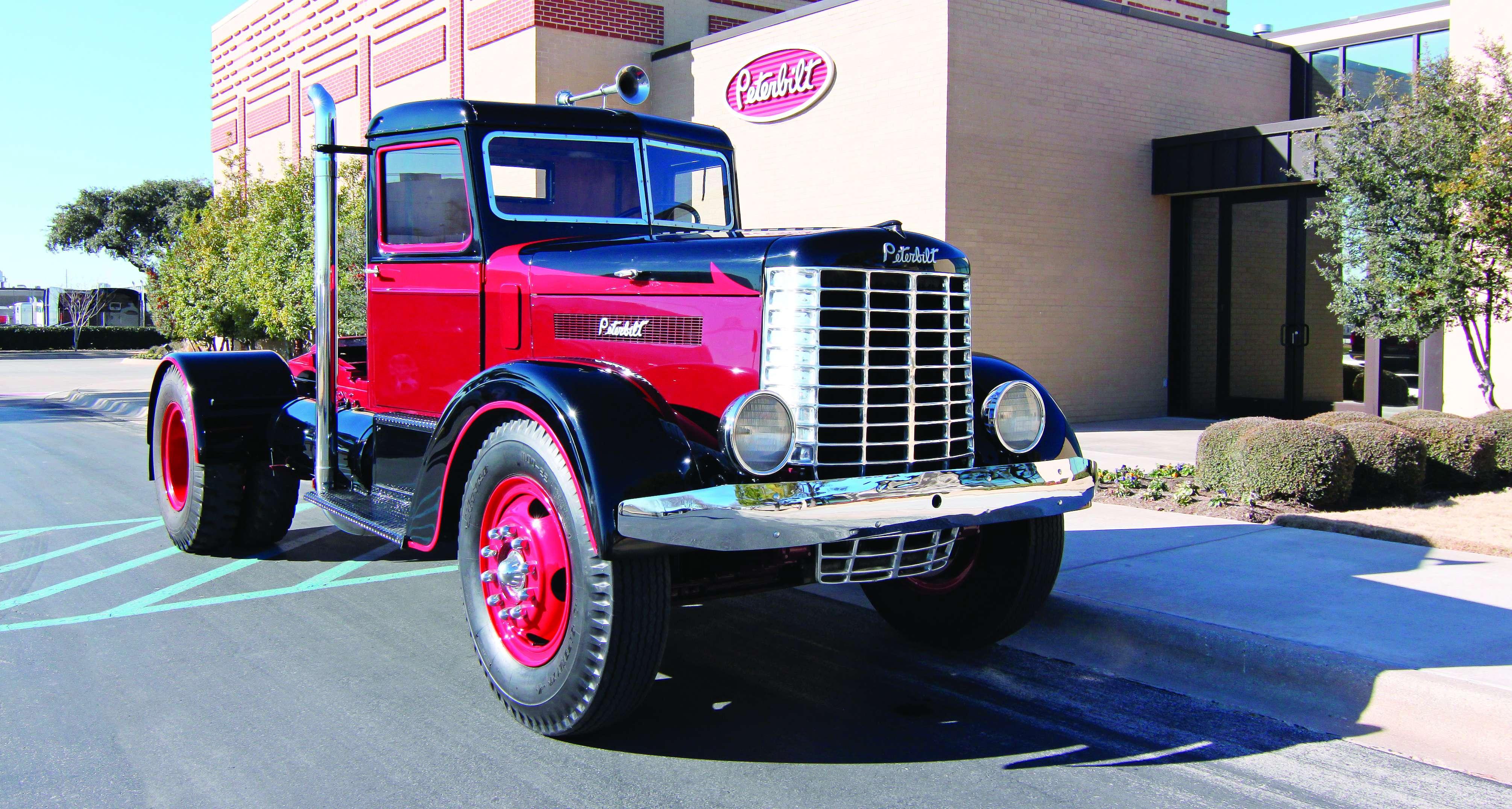 The Story Behind Peterbilt's Anniversary Truck