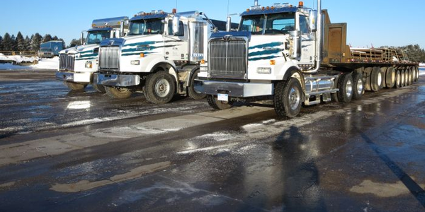 Western Star stations three vehicles at Eaton's proving grounds at Marshall, Mich., for...