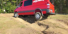 Test Drive: Sprinter 4x4s Traverse Rough Terrain