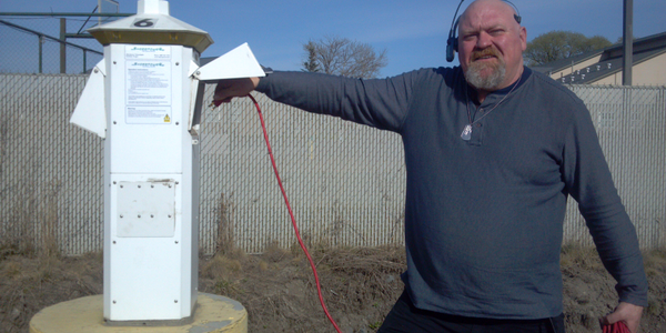 Owner-operator Matt Purtee likes it when he can find plug-in shore power at truckstops, but...