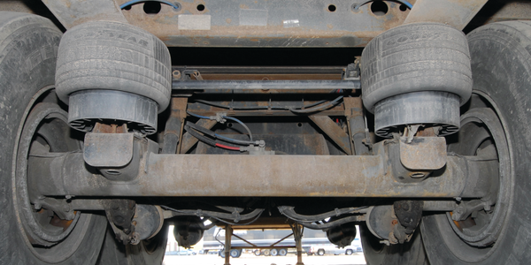 Pounds can be shed on parts underneath the trailer including landing gear, suspensions, axles...
