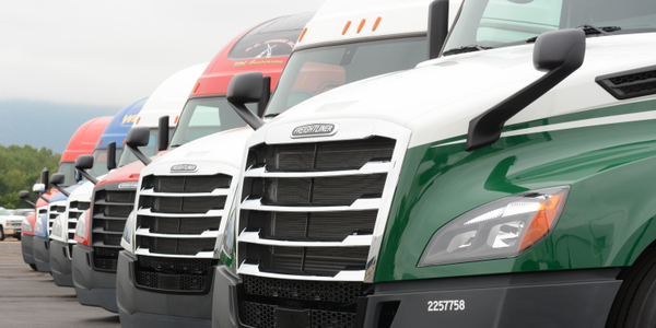 Freightliner's new Cascadia model represents fours years of work. It has tested to be 8% more...