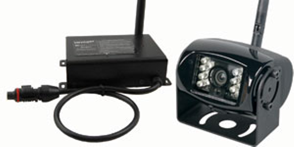 The camera and receiver system allows the addition of Voyager's wireless back-up or side view...