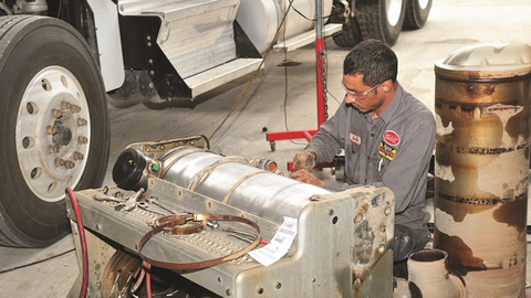A truck driver may not know when to address a DPF regen warning, which can costs fleets days of...