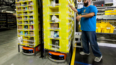 Amazon has been using these small orange warehouse robots for several years to make picking much...