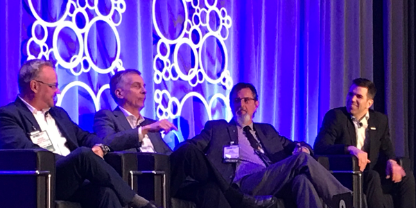 """Big data, telematics, and the """"internet of trucks"""" were discussed by a panel at the Canadian..."""