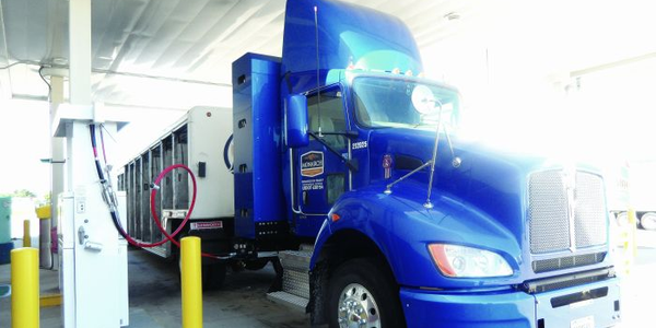 Suppliers are finding ways to hold more CNG in on-board tanks, making it viable for trucks to...