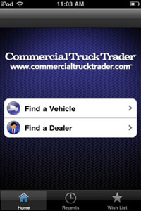 Commercial Truck Trader Unveils iPhone App For Finding Trucks