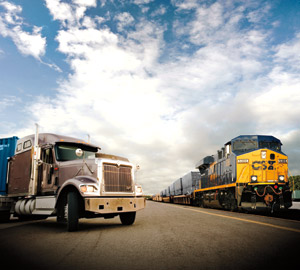 Rail intermodal gives trucking companies another option to sell to customers interested in saving money and being 'green.'