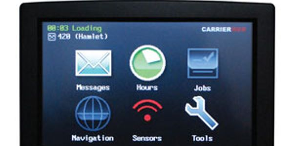 The CarrierMate 5700 has a 7-inch touchscreen.
