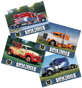 Cat Releases 10th Series of Super Trucks Collector Cards