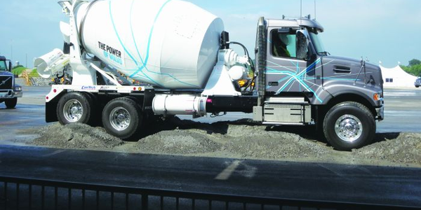 A mixer chassis sometimes needs to creep over uneven surfaces or while pouring concrete...