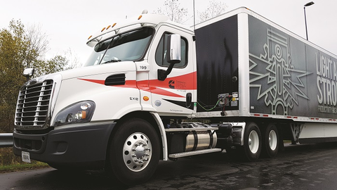 We tested our X12 in a Cascadia daycab on Interstate and two-lane highways in Western New York,...
