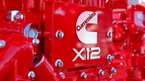 The new X12 from Cummins is based on the global ISG platform. It's not a rebranded ISX12....