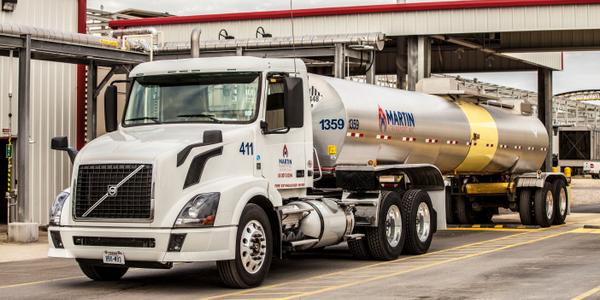 Martin Energy truck powered by DME in pilot program.