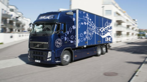 DME was one of a number of alternative fuels tested in Europe by Volvo in real-world service...