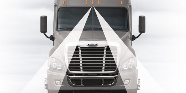 Detroit Assurance includes an optional Lane Departure Warning system consisting of a...