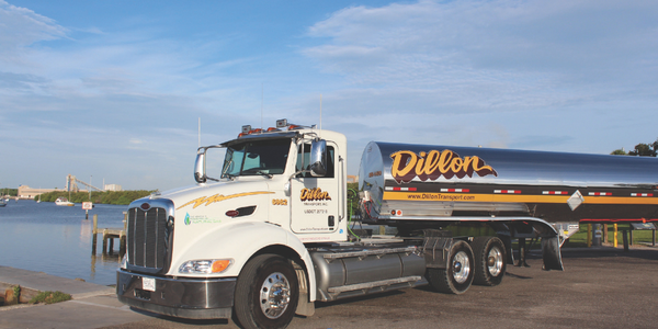 Dillon Transport uses natural gas as a strategy to go after new customers for whom...
