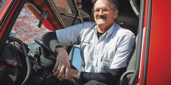 Nussbaum Transportation stresses communication with drivers. Photo: Nussbaum