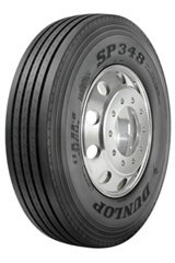 The new Dunlop SP348 for Goodyear is an all-position steer tire for regional fleet, school bus and pickup and delivery applications.