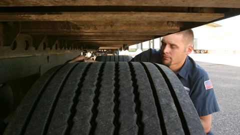 Tread depth measurements and tire condition checks should take place at regular intervals, and...