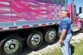 Vinyl Graphics Add Charity Awareness – and Revenue