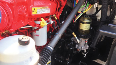 Supplemental fuel processors combine a fuel filter, water separator and heater all in one unit...