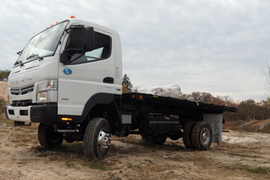 Test Drive: Fuso FG 4x4 Goes Almost Anywhere