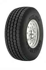 Goodyear's New Super-Single Tire Offers Long Mileage for Mixed-Service Customers