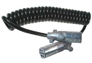 Grote's new Ultra-Link-Coil-Cords are molded with an adhesive that bonds with the cable to eliminate the need for a spring.