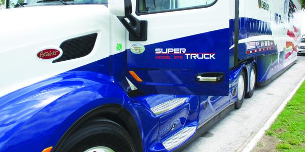 Driving A SuperTruck