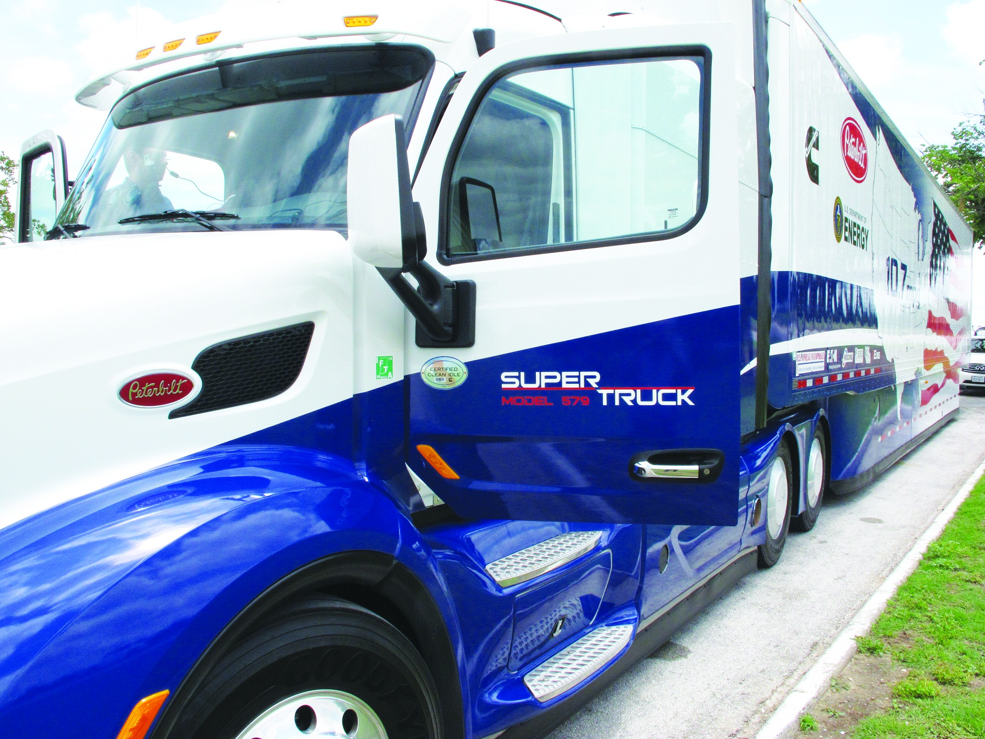Driving A SuperTruck