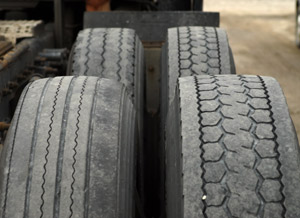 Small differences in circumference, diameter, or tread depth in a dual assembly, or a pressure differential of only 10-15 psi across the two, can wreck a tire - or both tires - in a matter of weeks. (Photo by Jim Park)