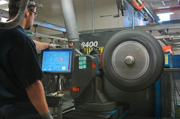 Retreading is a cost-effective hedge against increasing tire raw material costs. (Photo by Jim Park)