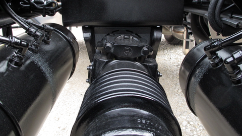 Driveline vibration can be felt in the cab and it can result from incorrect driveline angles,...
